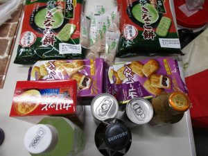 姫路でもらったお菓子