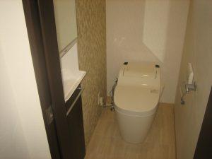 八尾市の注文住宅のトイレ
