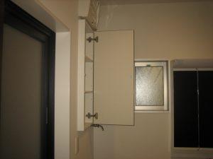 八尾市の注文住宅の洗面収納