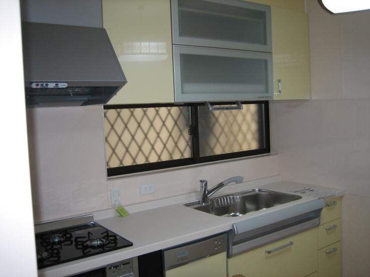 高槻市の一戸建てのキッチン