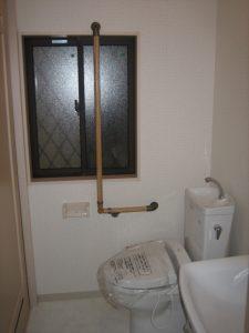 高槻市の一戸建てのトイレ