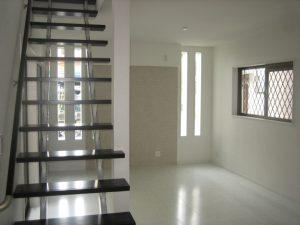 八尾市の注文住宅の階段