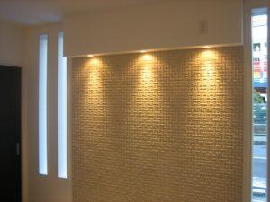 八尾市の注文住宅の照明