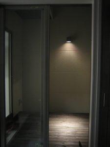 八尾市の注文住宅のウッドデッキ