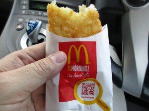 マクドのハッシュドポテト