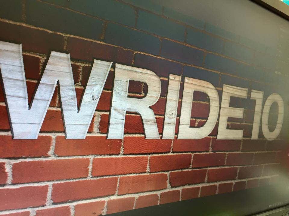 WRIDE10 コンセプトロゴ