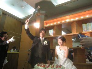 竹井君の結婚式