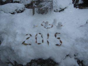 平安神宮の雪だるま