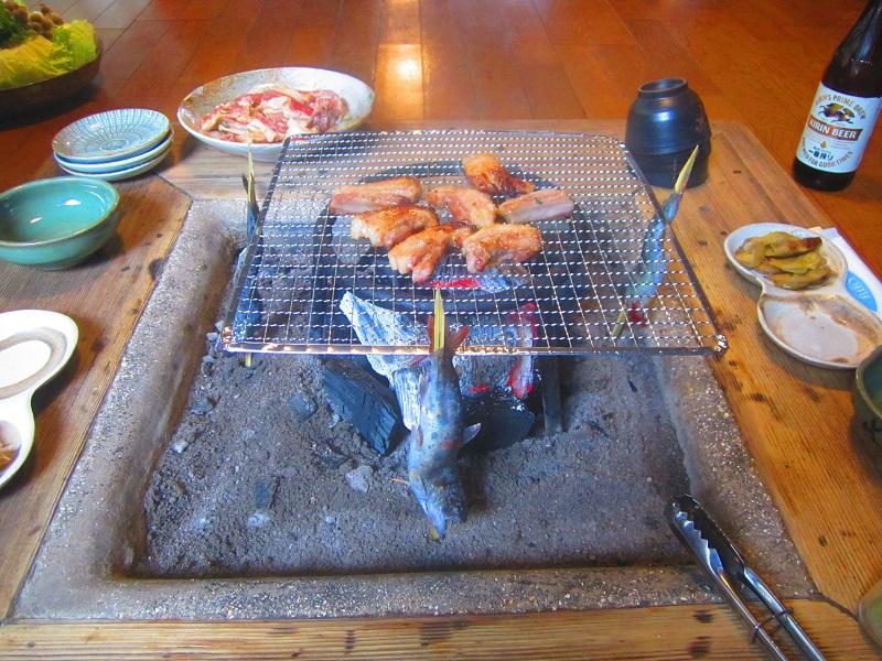 イノシシの焼肉